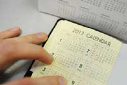 Ukrainians to have three days off on New Year's Day