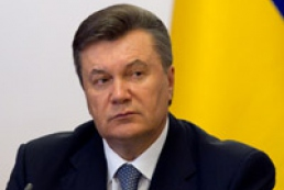 Yanukovych wants to intensify Ukraine-UAE relations