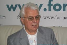 Kravchuk against amending Constitution at referendum