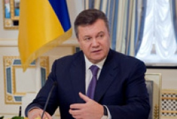 Yanukovych promises to remove barriers to self-realization of people with special needs
