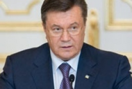 Yanukovych: Ukraine taking all necessary measures for AIDS Relief