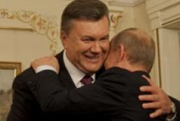 Yanukovych, Putin talk in Ashgabat