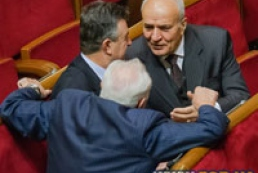 Lytvyn adjourned Parliament's session until 12.00