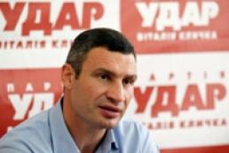 Klitschko to head UDAR faction