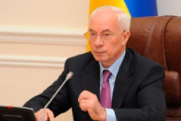 Azarov to hold Cabinet's meeting tomorrow
