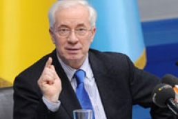 Azarov told deputies about his actions in Cabinet