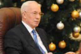 Azarov to propose first New Year toast to relatives and friends