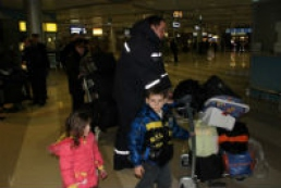 26 people evacuated from Syria arrive at Boryspil airport