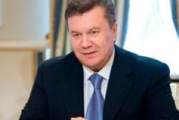 Yanukovych congratulates Putin on New Year