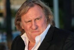 Depardieu arrives in Kyiv
