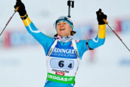 Ukrainian won bronze at Biathlon World Cup
