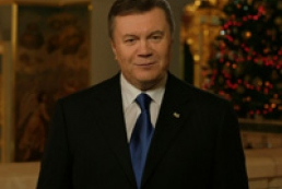 Yanukovych wished Ukrainians peace and prosperity on occasion of Christmas