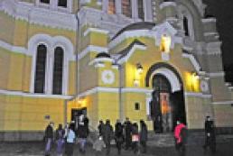 Christmas Eve in Kyiv - carols and worship