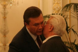 Yanukovych wishes Kravchuk to implement all plans