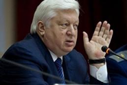 Pshonka tells foreign diplomats about Tymoshenko
