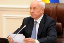 Azarov wants Ukraine to enter country rankings on economic freedom