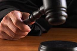 Court pronouncing sentence to Pukach
