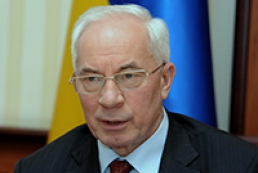 Azarov: Ukraine insists on revision of gas contract with Gazprom