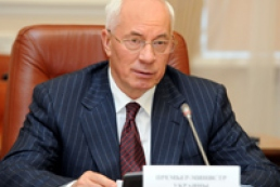Azarov expects positive result from talks with IMF
