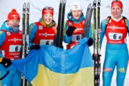Ukraine becomes third in Biathlon World Championship