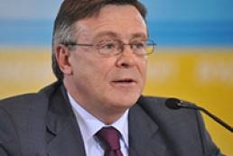 Kozhara discuss upcoming Ukraine - EU summit with German Ambassador