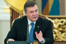 Yanukovych opens Cabinet's extended meeting