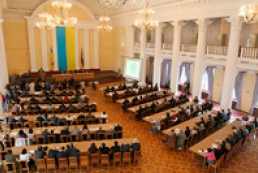 Blocking of Kyiv Council rostrum suspends its sitting
