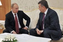 Kremlin tells what Putin, Yanukovych discuss today