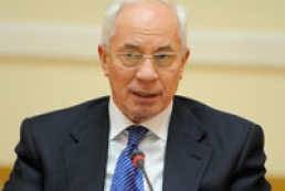 Azarov thanks Ukrainians for help in combating bad weather consequences