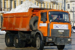 74 thousand tons of snow removed from Kyiv over last three days
