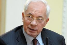 Azarov's income falls