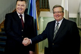 Komorowski: Poland not to participate in Russian gas projects, jeopardizing Ukraine