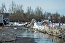 More than 90 Ukrainian settlements flooded