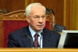 Azarov to address Parliament for 1.5 hours