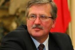 Komorowski: Poland will not help Russia put pressure on Ukraine