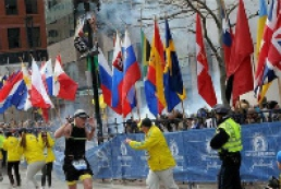 Two bombs explode at Boston Marathon finish line, killing three, wounding 134