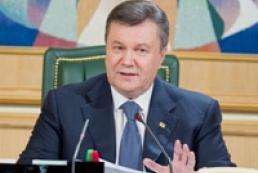 Yanukovych welcomes EP's decision on visa facilitation