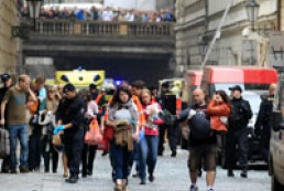 Four killed in Prague blast