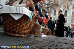 Ten million Ukrainians attend Easter offices