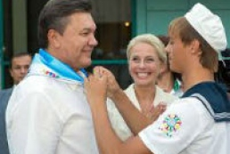 Yanukovych to visit Artek