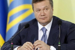 Yanukovych thanks bankers for conscientiousness and hard work