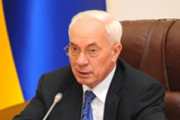 Azarov demands to cancel accreditation of journalists for protest during government meeting
