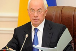 Azarov instructs work out program for road repair