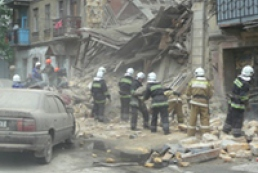 Two people rescued from rubble of collapsed house in Odesa