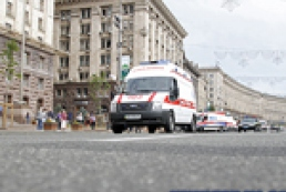Saving all or Competition of ambulances in Kyiv
