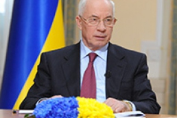 Azarov congratulates water economy workers on professional holiday