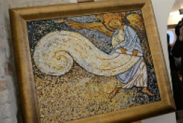 Amber mosaic panels to present Ukrainian culture in Azerbaijan