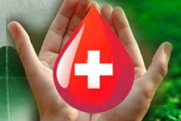 Ukrainian donors donate 350 thousand liters of blood over year