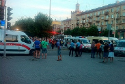 16 injured in minibus crash in Zaporizhya