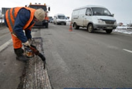 Road surface to be replaced on orbital road in Kyiv